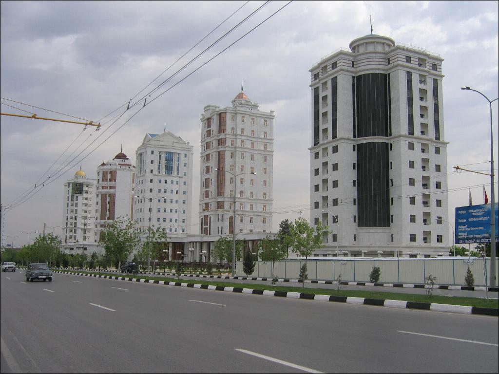Ashgabat, Turkmenistan. Photo by giladr