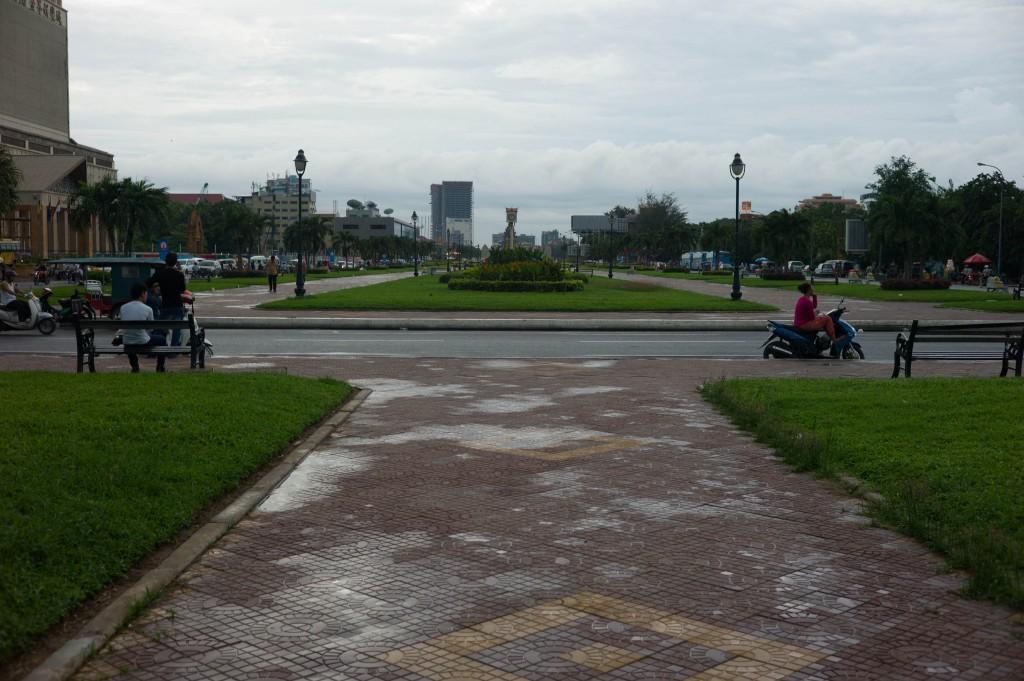 Hun Sen Park in Phnom Penh, Cambodia