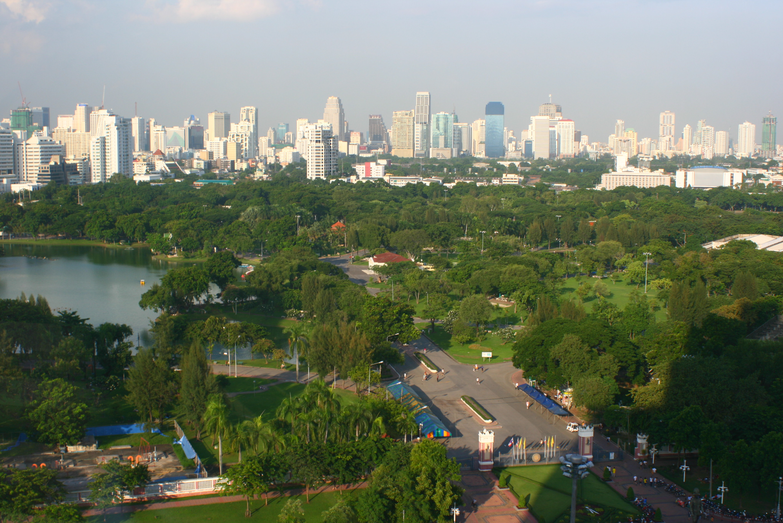 Lumphini_Park_air_view